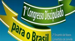"""1º Congresso """"Discipulado para o Brasil"""""""