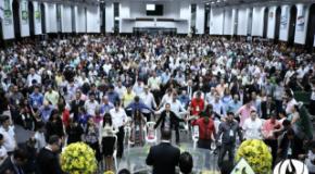 Leis aprovadas na câmara joinvilense recebem destaque na abertura do congresso Discipulado para o Brasil