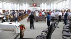 Primeira Consagração de 2021: IEADJO reúne pastores e dirigentes de congregações