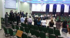 Culto dos Empresários com Deus no Templo Central da IEADJO
