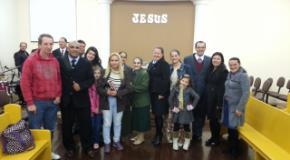 Anitápolis realiza seu 1º Pré-Congresso de Discipulado e Encontro de Novos Convertidos com 5 almas para Cristo
