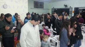 """Em Julho/2013 o projeto """"Doe sua férias"""" evangelizou Cordilheira Alta"""