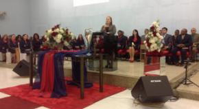 Irmã Maria Helena Melfior faz abertura do 47º Congresso do Circulo de Oração da Congr. do Itaum