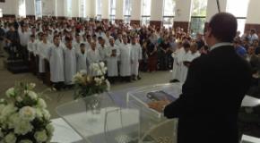 IEADJO realiza o 3º Batismo de 2013