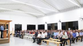 Centreventos IEADJO recebe Reunião/Confraternização com Dirigentes de Congregações