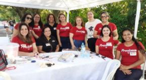 Mulheres em movimento: UFADVILLE participa de evento contra a violência doméstica