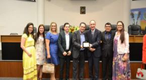 Rádio 107,5 FM recebe homenagem do Poder Legislativo de Joinville