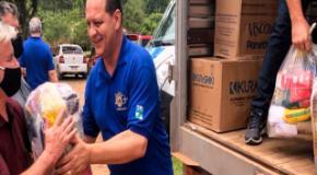 IEADJO leva donativos para cidades afetadas pela pandemia e estiagem