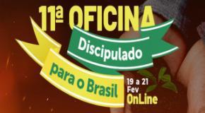 100% online: IEADJO promove 11ª Oficina Discipulado para o Brasil