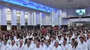 Sexto batismo de 2015 realizado neste domingo na IEADJO