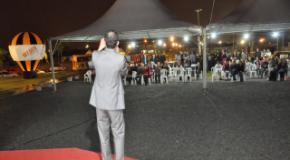 Realizamos a sétima Cruzada Evangelística Abençoando Joinville
