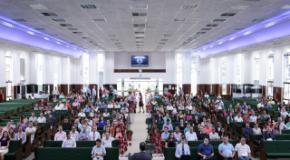 Reunião com todos os secretários das congregações da IEADJO realizada na Sede