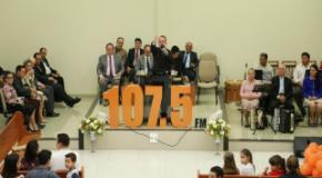 Terceiro culto da rádio 107 é realizado na IEADJO Betesda com apoio a campanha AME JONATAS