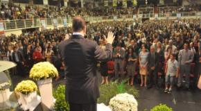 Mais de quinhentos obreiros foram consagrados em Joinville no mês de agosto/14