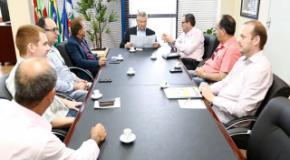 Representantes da FUNADEJ reuniram-se com o Prefeito de Joinville