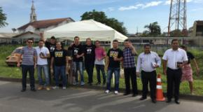 Realizado em Joinville, o maior trabalho evangelístico do ano, no dia de finados