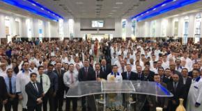Segundo Batismo do Ano de 2017 realizado na IEADJO