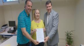IEADJO participa de entrega de recursos para Saúde de Joinville