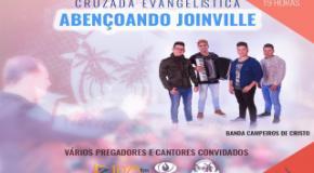 Cruzada Abençoando Joinville começa nesta segunda