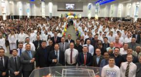 IEADJO batiza 234 novos membros no 5º Batismo de 2018