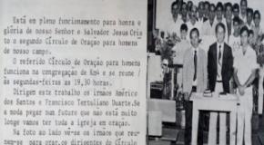 #ieadjonahistória: Círculo de Oração Masculino na IEADJO – primórdios