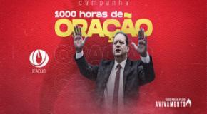 1000 horas de Oração e Jejum: Campanha começa em março