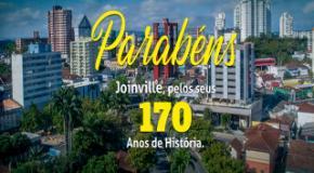 Parabéns Joinville: 170 anos de história