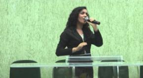 Jani Souza no Culto da Vitoria - Creio que Tu és a Cura