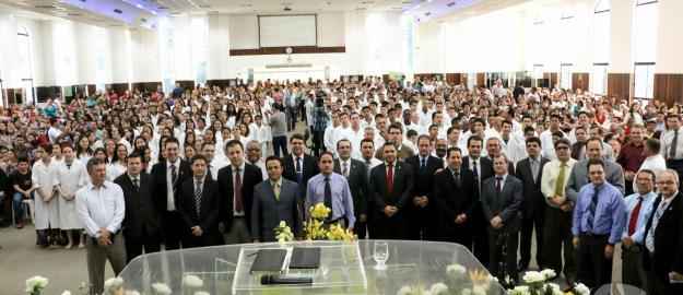 IV Batismo de 2014 realizado na IEADJO