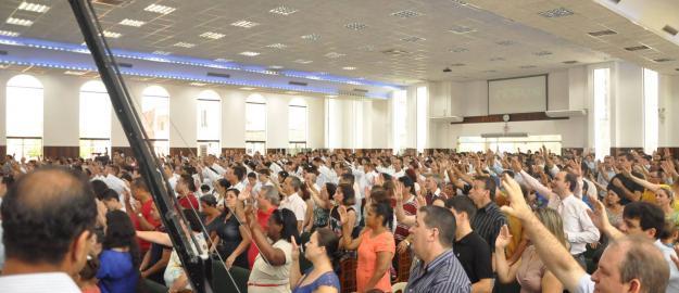 Ultimo batismo de 2014 realizado pela IEADJO