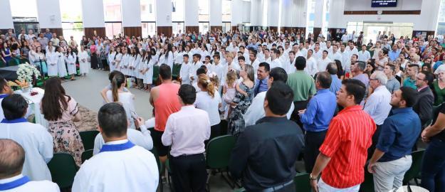 IEADJO em festa com o Primeiro Batismo do Ano de 2017