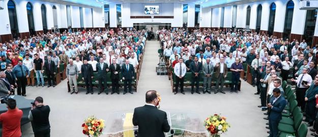 Comitiva da CGADB participa da Reunião Geral de Obreiros da IEADJO