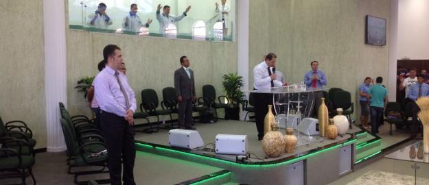 I Batismo de 2014 realizado na IEADJO