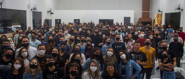 """Jovens da IEADJO participam do Seminário """"Antes do Sim"""""""