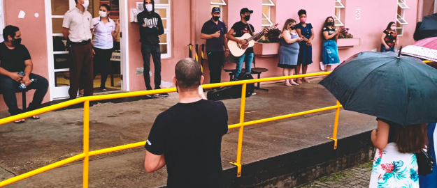 UMADJO realiza orações e louvores nas Unidades de Saúde em Joinville