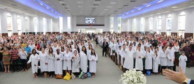 IEADJO batiza 230 novos membros e conversões marcam o 6º batismo de 2018