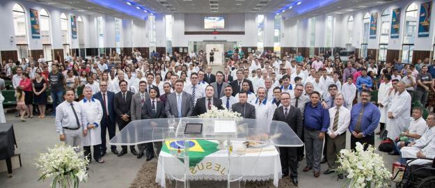 IEADJO realiza primeiro batismo de 2019