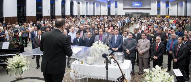 IEADJO realiza AGE e Eleição de Diretoria no primeiro culto de Santa Ceia de 2019