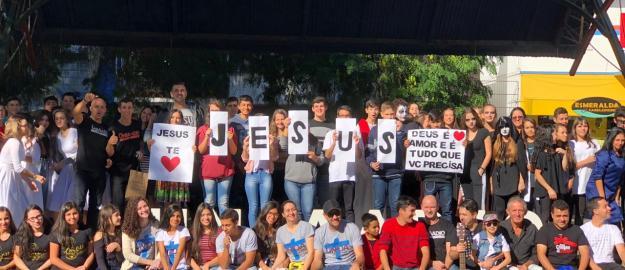 IEADJO sai às ruas com ações no Dia Global de Evangelização