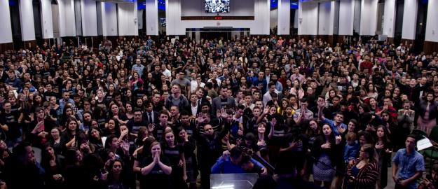 Cerca de 5 mil jovens são impactados por Deus no 48º Congresso da UMADJO