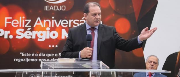 IEADJO realiza culto em Ação de Graças pela vida do Pastor Sérgio Melfior