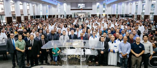 IEADJO realiza primeiro Batismo de 2020