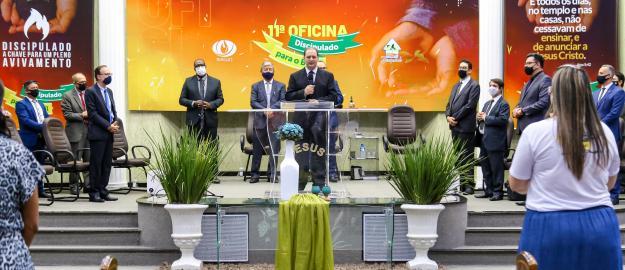 Avivamento: 11ª Oficina de Discipulado da IEADJO alcança mais de 800 discipuladores em evento híbrido