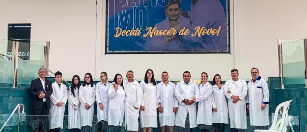 IEADJO batiza 348 Novos Membros