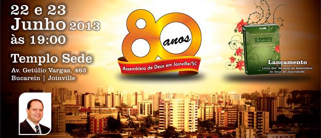 Festa de Aniversario dos 80 Anos da IEADJO