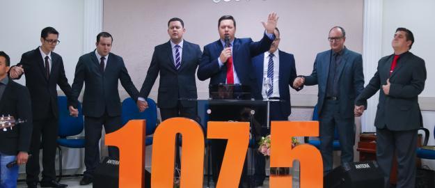 Rádio 107,5 FM realiza seu primeiro culto de 2018