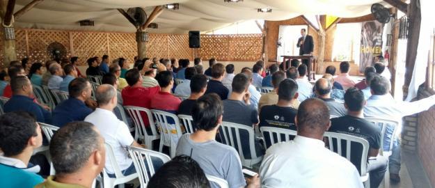 Primeiro Retiro Espiritual reúne mais de 100 Homens