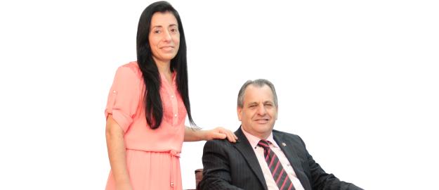 Amarildo Feller e Rosiana dos Santos Feller