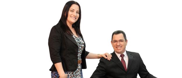 Ely Borges Filho e Célia Ledoux Borges