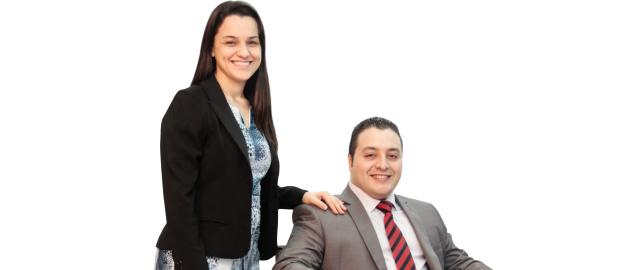 Eliseu Melfior e  Janaina Melfior